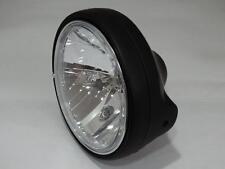 Klarglas Scheinwerfer schwarz H4 Suzuki GSF Bandit 400 600 N black headlight