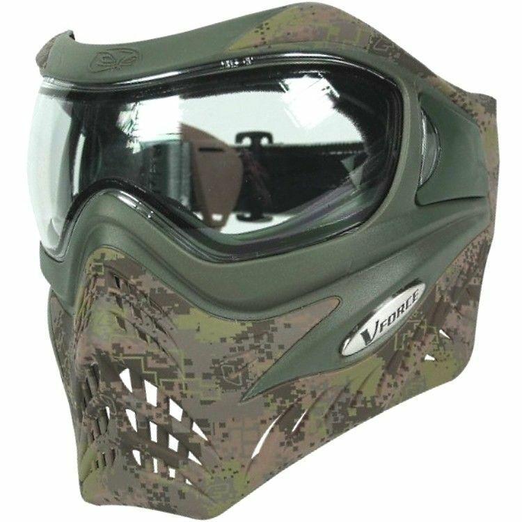 Eclipse V-Force HDE Grill camo Paintball Maske
