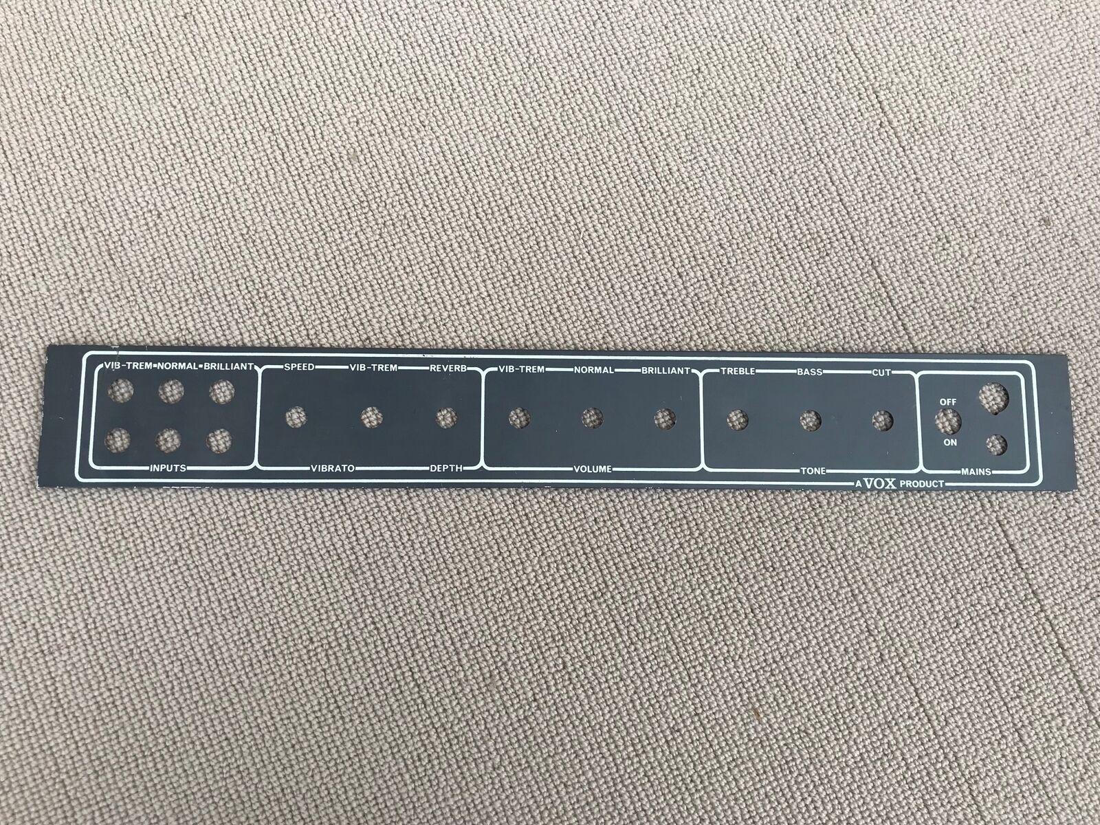 1970 - 1975 Vox AC30 Control Panel