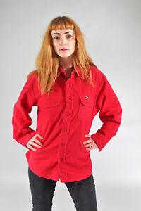Vintage-Wrangler-rot-Shirt-L