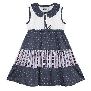 Domino Girl London Toddlers Floral Print Summer Dress