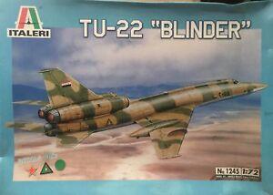 Italeri-TU-22-Blinder-Ref-1245-Escala-1-72