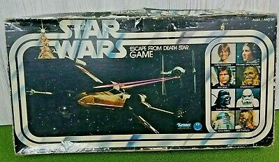 Vintage 1977 Kenner Star Wars Escape From Death Star Board ...
