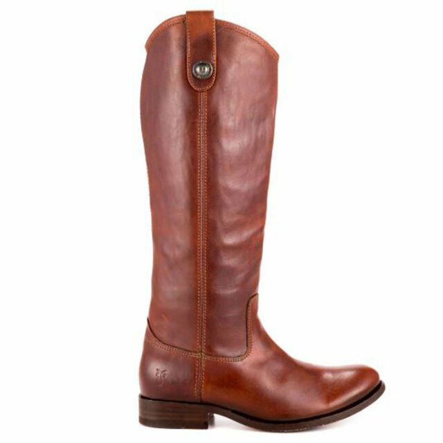 Frye Boot Melissa Button - Brown Tall