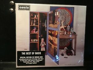 Oasis-Stop-The-Clocks-2-CD-Compilation-Remastered-DVD-NEW-Sealed