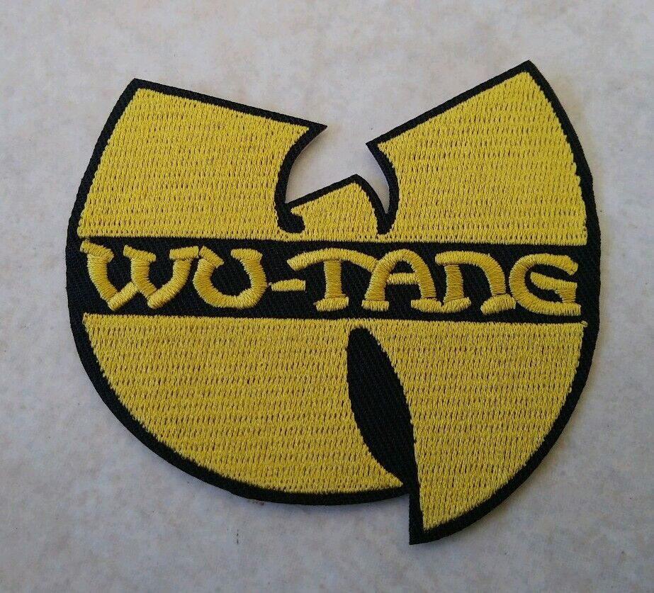 Wu-Tang Clan Hip Hop Group Iron On Patch Embroidered Badge New York Logo Wutang