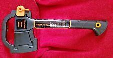"FISKARS 14"" Hatchet Camp Axe & Blade Guard Case Model 7750 Free Shipping NEW"