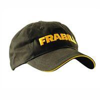 Frabill Classic Fishing Hat - Great Open Water / Ice Fishing Cap Black & Yellow