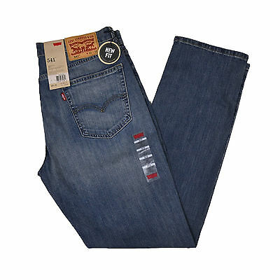 Levis 541 Athletic Fit Mens Jeans New Fit Many Sizes and Colors New With Tags
