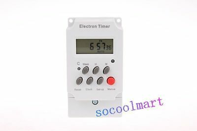 AC 220V 25A Programmable Electronic Timer Switch KG316T-II