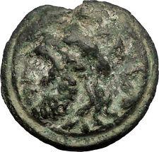 Roman Republic 217BC Aes Grave Semis Saturn Galley Ship Ancient Coin RARE i57260