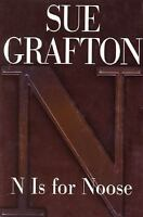 N Is for Noose by Sue Grafton, Copyright 1998, 1st Edition, Hardcover