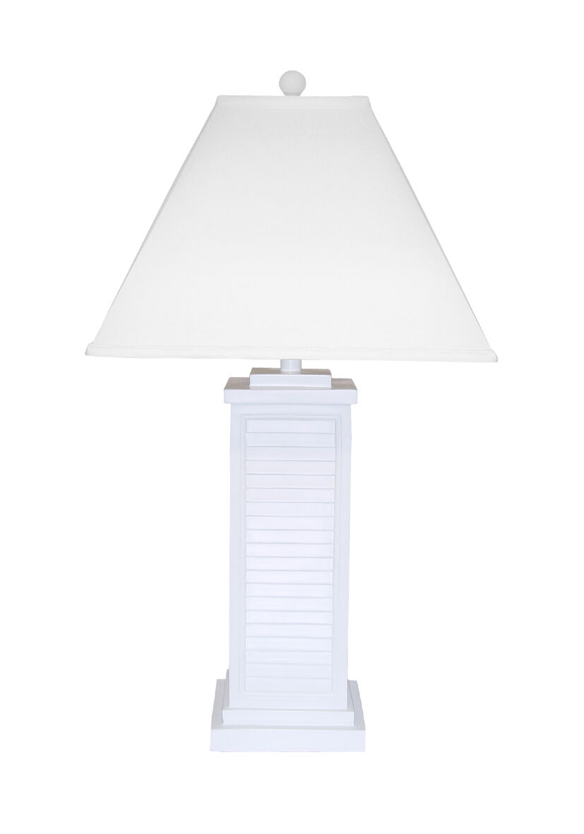 Coastal Cottage Table Lamp Shutter 31 Tall For Sale Online