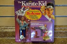 1986 Remco Toys The Karate Kid Mr Miyagi Ultimate Action Figure Blue New
