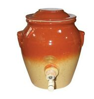 Vinaigrier En Gres Chataigne 4l Digoin Ceramique