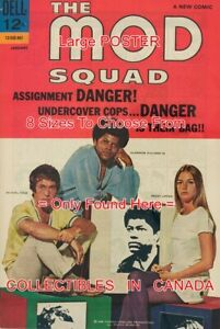 MOD-SQUAD-1969-1-TV-Show-PEGGY-LIPTON-POSTER-Not-Comic-Book-8-SIZES-18-034-3-FT