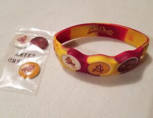 Image Is Loading Wrist Skins Golf Ball Marker Bracelet Arizona State