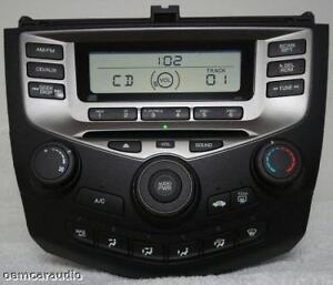 Image Is Loading 03 04 05 06 Honda Accord Radio Stereo