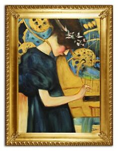 Oil-Painting-Pictures-Hand-Painted-with-Frame-Baroque-Art-G96410
