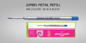 10-x-Parker-Compatible-Jotter-Ball-Point-Pen-Refills-Black-Ink-Needle-Tip-0-5mm