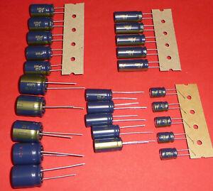 5x-org-Panasonic-FC-220-270-330-1000-1200-uF-16-35-50-V-105-C-Long-Life-Low-ESR
