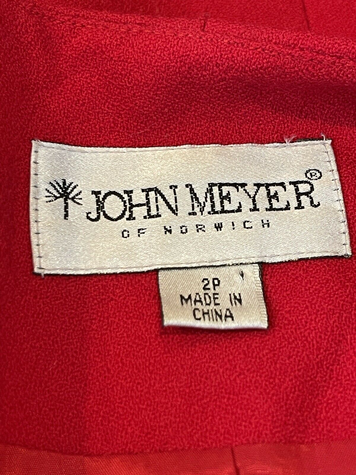 Vintage John Meyer of Norwich 2P Holiday Red Bead… - image 10