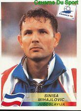 395 SINISA MIHAJLOVIC JUGOSLAVIJA VIGNETTE STICKER WORLD CUP FRANCE 98 PANINI