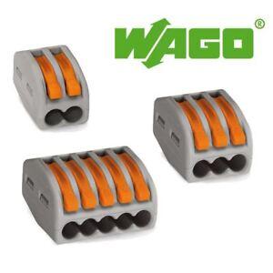 Wago-222-Series-Spring-Lever-Reusable-Terminal-Block-Connector-2-3-5-Way