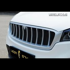 Radiator Grille Front Grill Silver & Black Painted For KIA All New Sorento 2016+