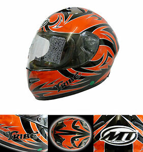 MT-Adult-Tribe-Helmet-Motorcycle-Full-Face-Red-Black-Clearance-XL-61cm-T