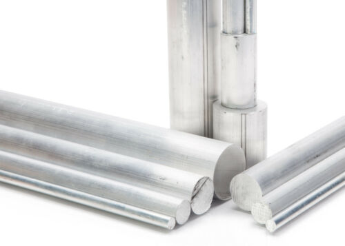 """3//4/"""" Diameter 6061 Aluminum Round Rod 12/"""" Length T6511 Extruded 0.75 inch Dia"""