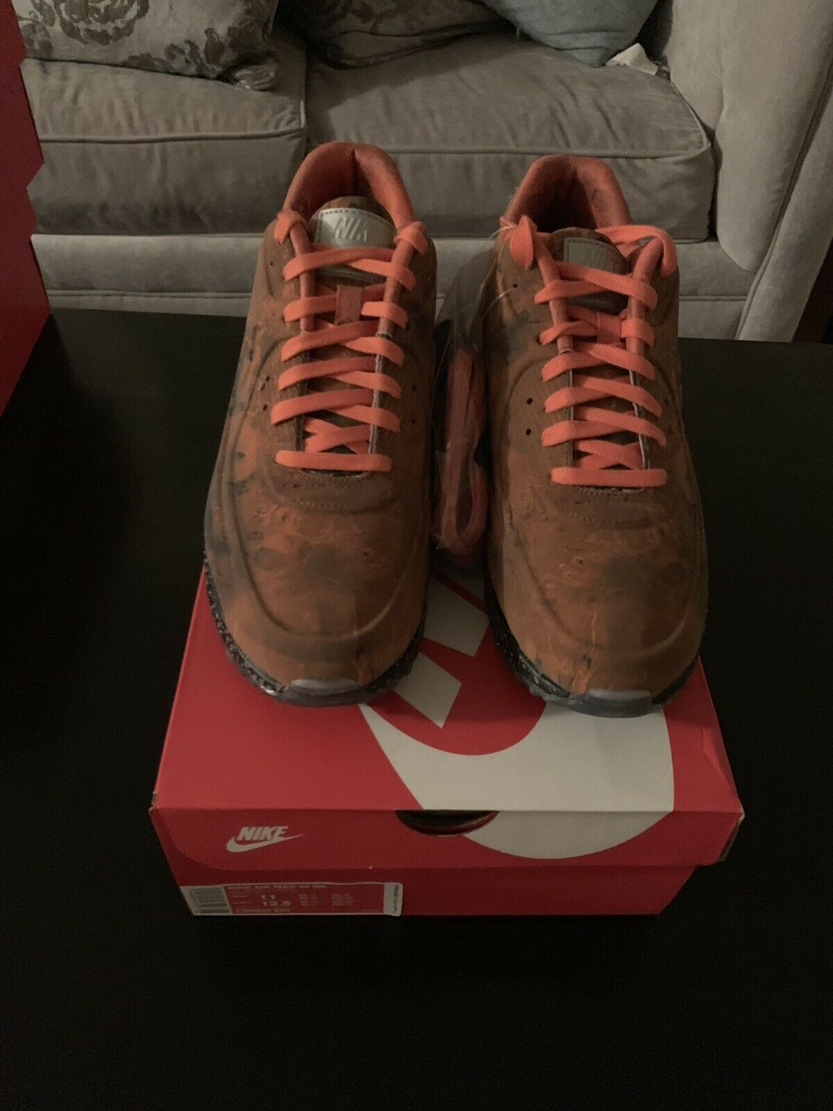 Nike Air Max 90 QS Mars Landing Size 11 DS W Receipt CD0920-600
