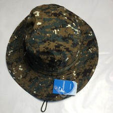 cf00569035e Boonie Hat RipStop Fabric Army USMC Navy Rip Stop Paintball FIshing Bush Cap