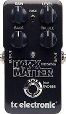 New TC Electronic Dark Matter Distortion Guitar Effects Pedal