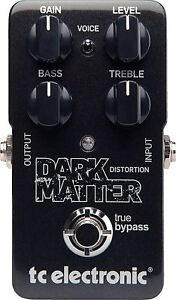 New-TC-Electronic-Dark-Matter-Distortion-Guitar-Effects-Pedal