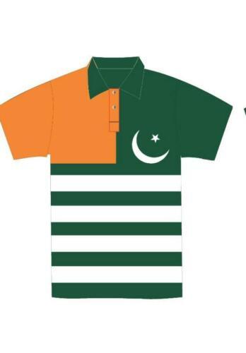 New Pakistan Kashmir flag World Cup 2019 Cricket Shirt ORIGINAL  White Sports