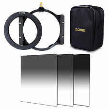 ZOMEI GND ND2+ND4+ND8 Filter+77mmAdapter Ring+Holder+16 Case For Cokin Z Pro LEE