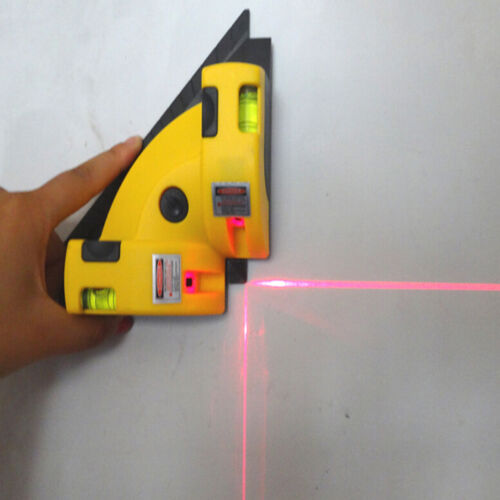 Right Angle 90 Degree Vertical Horizontal Laser Line Projection Square Level Hot