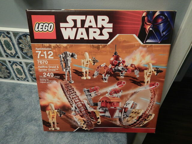 sw0184 Star Wars ™ LEGO ® Set 7670 Battle Droid Commander Yellow Torso