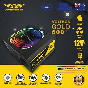 600-Watt-PC-Computer-RGB-Power-Supply-Armaggeddon-Voltron-Gold-Series