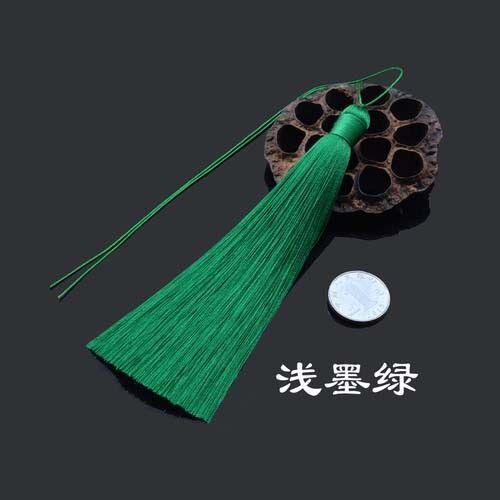 15cm Ice Silk Tassel Car Pendant Tassels Jewelry Making DIY 39 Colors Option