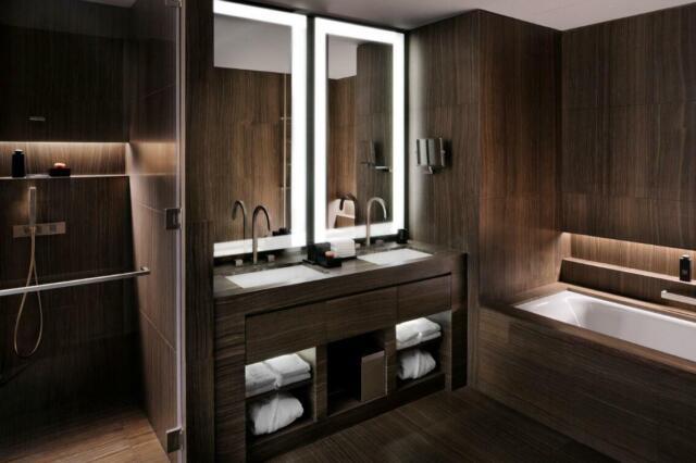 Bathroom Mirror Illuminated Dimmable