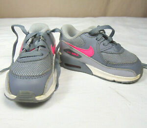 Details about Nike Air Max 90 Mesh Toddler Girl's Sneakers 724857-007 Size 5C