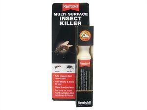 Rentokil RKLPSM73 Multi Surface Insect Killer Pen 30g Non Sticky Clear Odourless