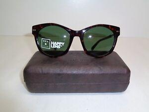 d5cf5b90ecba Image is loading Spy-Optic-MULHOLLAND-Tort-Happy-Green-Fashion-Sunglasses-