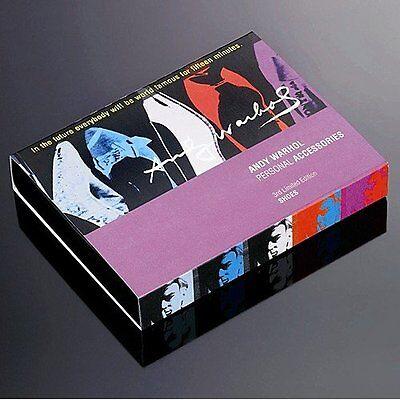 Andy Warhol por Troika Bolso de Mano Gancho Hanger 3rd Ltd Edition Zapatos En Caja
