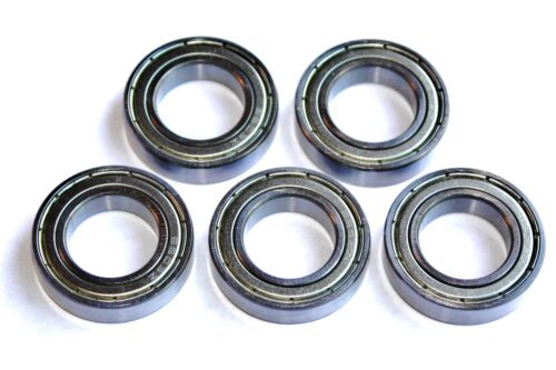 5 pack 61702 zz 6702 zz 15x21x4w Thin Section HIGH PERFORMANCE BEARINGS