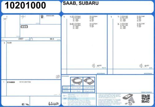 Genuine AJUSA OEM Replacement Full Engine Rebuild Gasket Set 50361400