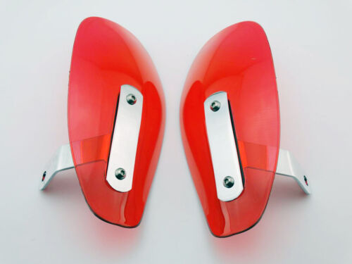 Motor Softail Dyna XL Dyna Roading Mirror Red Hand Guard Cold Wind Deflectors
