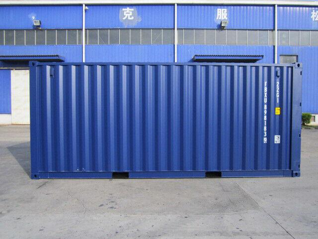 Lej en standardcontainer hos ALPHA Containers A/S